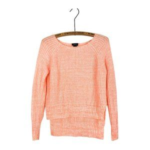Rue21 Peach Pink Knit Pullover Sweater Pastel